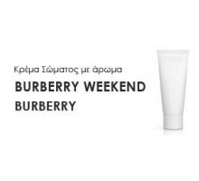 Κρέμα σώματος γυναικεία με Άρωμα  BURBERRY-WEEKEND - Χύμα αρώματα