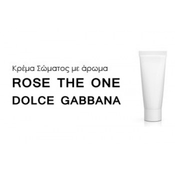 Κρέμα σώματος γυναικεία με Άρωμα ROSE THE ONE DOLCE GABBANA - Χύμα αρώματα